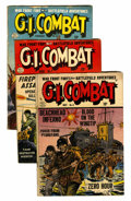Golden Age (1938-1955):War, G.I. Combat Group (Quality, 1953-56) Condition: GD/VG.... (Total: 6Comic Books)