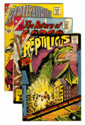 Silver Age (1956-1969):Horror, Reptilicus/Gorgo Related Group (Charlton, 1961-64) Condition:Average VG/FN.... (Total: 10 Comic Books)