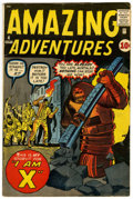 Silver Age (1956-1969):Horror, Amazing Adventures #4 (Marvel, 1961) Condition: VG+....