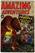 Silver Age (1956-1969):Horror, Amazing Adventures #3 (Marvel, 1961) Condition: VG/FN....