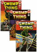 Bronze Age (1970-1979):Horror, Swamp Thing Group (DC, 1972-76).... (Total: 28 Comic Books)