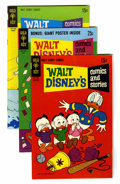 Bronze Age (1970-1979):Cartoon Character, Walt Disney's Comics and Stories Group (Gold Key, 1969-81)Condition: Average VF/NM.... (Total: 12 Comic Books)