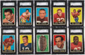 Football Cards:Lots, 1961 Topps Football Mid to High-Grade Collection (400+)...