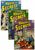 Silver Age (1956-1969):Mystery, House of Secrets Group (DC, 1957-61) Condition: Average GD/VG....(Total: 20 Comic Books)