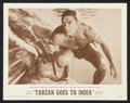 """Movie Posters:Adventure, Tarzan Goes to India (MGM, 1962). Lobby Card Set of 8 (11"""" X 14"""").Adventure.. ... (Total: 8 Items)"""