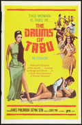 "Movie Posters:Adventure, Drums of Tabu (PRO International, 1967). One Sheet (27"" X 41"").Adventure.. ..."