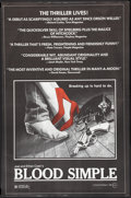 "Movie Posters:Thriller, Blood Simple (Circle Films, 1984). Poster (24"" X 37""). Thriller....."
