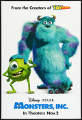 "Movie Posters:Animated, Monsters, Inc. (Buena Vista, 2001). One Sheet (27"" X 40"") DSAdvance. Animated.. ..."