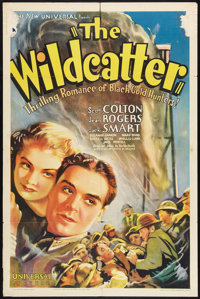 "The Wildcatter (Universal, 1937). One Sheet (27"" X 41""). Action"