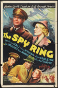 """Movie Posters:Crime, The Spy Ring (Universal, 1938). One Sheet (27"""" X 41""""). Crime.. ..."""