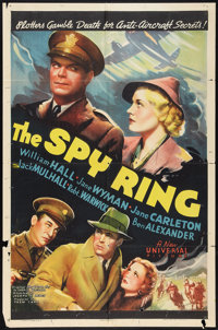 "The Spy Ring (Universal, 1938). One Sheet (27"" X 41""). Crime"