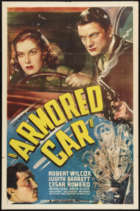 """Armored Car (Universal, 1937). One Sheet (27"""" X 41""""). Crime"""