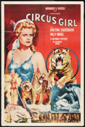 "Movie Posters:Adventure, Circus Girl (Republic, 1956). One Sheet (27"" X 41""). Adventure....."