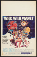 "Movie Posters:Science Fiction, Wild, Wild Planet (MGM, 1967). Window Card (14"" X 22""). Science Fiction.. ..."