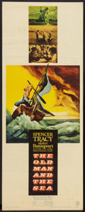 "Movie Posters:Adventure, The Old Man and the Sea (Warner Brothers, 1958). Insert (14"" X36""). Adventure.. ..."