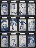 Baseball Cards:Sets, Extremely Rare 1928 Exhibit Pacific Coast League Baseball Near Set (29/32). ...