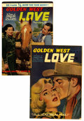 "Golden Age (1938-1955):Romance, Golden West Love #1 and 3 Davis Crippen (""D"" Copy) pedigree Group(Kirby Publishing, 1949-50).... (Total: 2 Comic Books)"