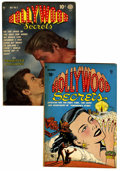"Golden Age (1938-1955):Romance, Hollywood Secrets #1 and 5 Davis Crippen (""D"" Copy) pedigree Group(Quality, 1949-50).... (Total: 2 Comic Books)"