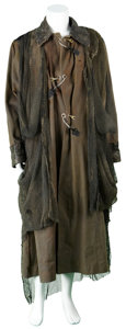 Movie/TV Memorabilia:Costumes, Soldier - Sean Pertwee Screen-Worn Overcoat....