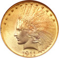 Indian Eagles, 1911 $10 MS66 NGC....