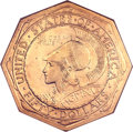 Commemorative Gold, 1915-S $50 Panama-Pacific 50 Dollar Octagonal MS63 NGC. CAC....