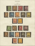 Stamps, U.S. Collection, 1851-1988,... (Total: 1 Small Box)
