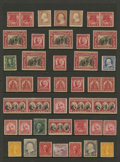 Stamps, U.S. Collection, 1857-1993,... (Total: 1 Small Box)