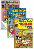 Bronze Age (1970-1979):Cartoon Character, Richie Rich and Dollar the Dog/Cadbury File Copy Group (Harvey,1970s) Condition: Average NM-.... (Total: 9 Comic Books)