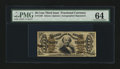 Fractional Currency:Third Issue, Fr. 1329 50¢ Third Issue Spinner PMG Choice Uncirculated 64....
