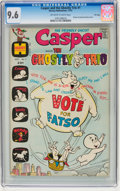 Bronze Age (1970-1979):Cartoon Character, Casper and the Ghostly Trio #1 File Copy (Harvey, 1972) CGC NM+ 9.6Off-white to white pages....