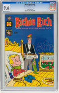 Bronze Age (1970-1979):Cartoon Character, Richie Rich #102 File Copy (Harvey, 1971) CGC NM+ 9.6 Off-white towhite pages....
