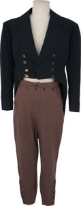 Movie/TV Memorabilia:Costumes, Robert Taylor's Costume from Stand Up and Fight.... (Total: 2 Items)
