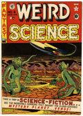 Golden Age (1938-1955):Science Fiction, Weird Science #6 (EC, 1951) Condition: VG/FN....