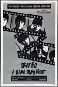 "Movie Posters:Rock and Roll, A Hard Day's Night (Universal, R-1982). One Sheet (27"" X 41""). Rock and Roll.. ..."