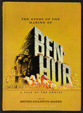 "Movie Posters:Historical Drama, Ben-Hur Lot (MGM, 1959). Programs (2) (8.25"" X 11.25"", MultiplePages). Historical Drama.. ... (Total: 2 Items)"