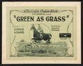 """Movie Posters:Short Subject, Green as Grass (Educational, 1923). Title Lobby Card and LobbyCards (6) (11"""" X 14""""). Short Subject.. ... (Total: 7 Items)"""