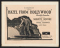 "Movie Posters:Short Subject, Hazel From Hollywood (Educational, 1923). Title Lobby Card andLobby Cards (3)(11"" X 14""). Short Subject.. ... (Total: 4 Items)"