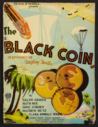"The Black Coin (Stage and Screen Productions, 1936). Pressbook (Multiple Pages, 9.25"" X 12.5""). Serial"