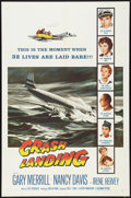 "Movie Posters:Drama, Crash Landing (Columbia, 1958). One Sheet (27"" X 41""). Drama.. ..."