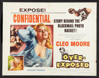 "Over-Exposed (Columbia, 1956). Half Sheet (22"" X 28"") Style B. Bad Girl"