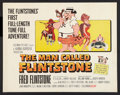 "Movie Posters:Animated, The Man Called Flintstone (Columbia, 1966). Half Sheet (22"" X 28""). Animated.. ..."