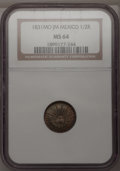 Mexico, Mexico: Republic 1/2 Real 1831Mo-JM,...