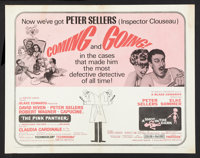 """A Shot in the Dark/The Pink Panther Combo (United Artists, R-1966). Half Sheet (22"""" X 28""""). Comedy"""