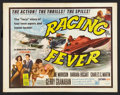 """Movie Posters:Sports, Racing Fever (Allied Artists, 1964). Half Sheet (22"""" X 28""""). Sports.. ..."""