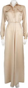 Movie/TV Memorabilia:Costumes, Lauren Bacall's Nightgown From Young Man With a Horn....