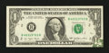 Error Notes:Foldovers, Fr. 1909-B $1 1977 Federal Reserve Note. Very Fine-Extremely Fine.....