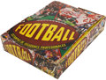Football Cards:Boxes & Cases, 1977 Topps Mexican Football Display Box And Wax Packs. ...
