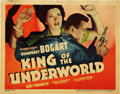 "Movie Posters:Crime, King of the Underworld (Warner Brothers, 1939). Title Lobby Card(11"" X 14"").. ..."