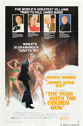 "Movie Posters:James Bond, The Man With the Golden Gun (United Artists, 1974). One Sheet (27"" X 41"") Style B.. ..."