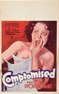 """Movie Posters:Comedy, Compromised (First National, 1931). Window Card (14"""" X 22"""").. ..."""